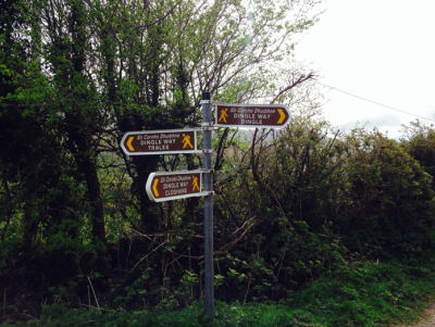 Dingle Way sign