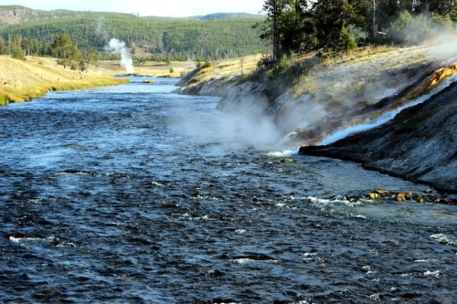 The Firehole River!