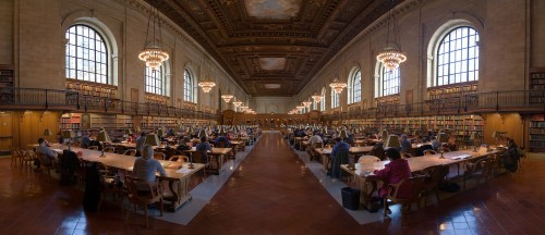 NYPL Research Room
